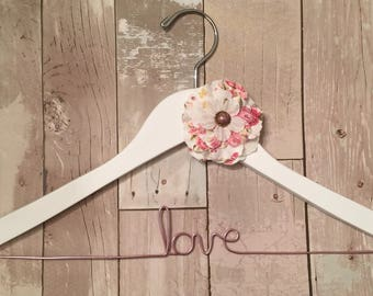 Love Wedding Hanger