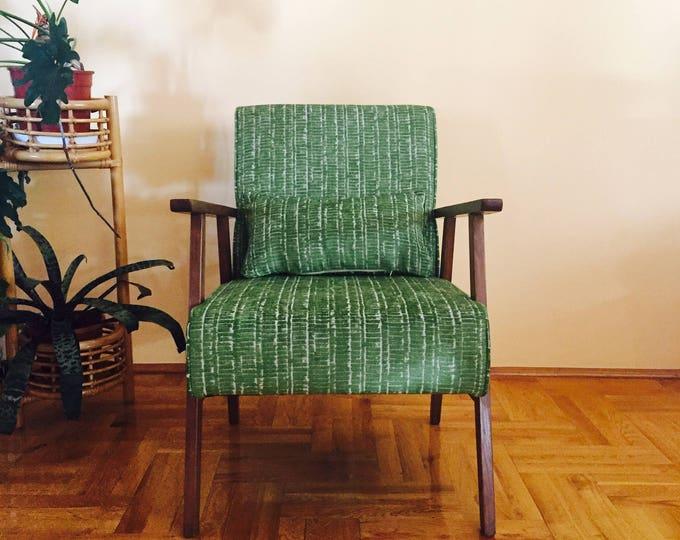 Nadin Midcentury Upcycled Armchair