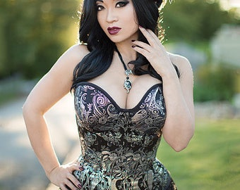McCall's M7339, Corset Sewing Pattern, Overbust or Underbust Corsets, by Yaya Han, Misses Sizes 6-14, New, UN-CUT