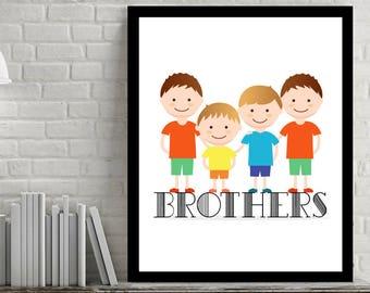 Custom Children Portrait Illustration, Custom Family Illustration, Couple Portrait, Digital File