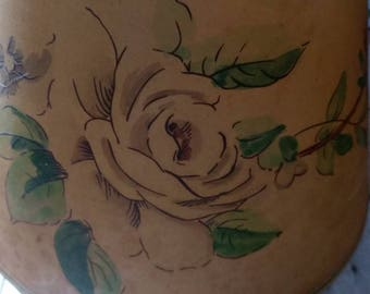 Vintage Paper Lampshade Floral