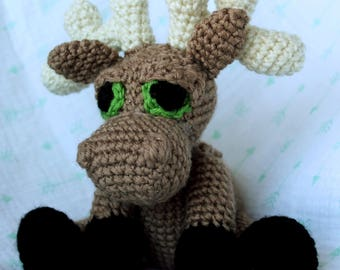 Handmade Moose Plush