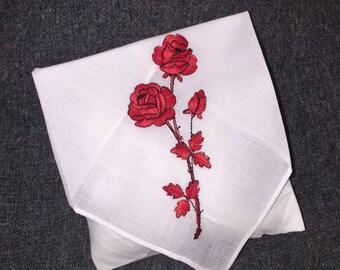 Handmade Sachet Made from An Antique Handjerchief