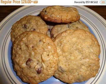 ON SALE: Tasty Homemade Chocolate Chip Oatmeal Cookies With Choices (3 Dozen)