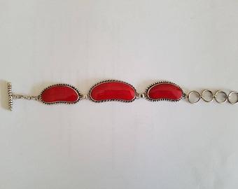Hand Made Sterling Silver Bracelet