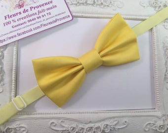 Bow tie yellow child