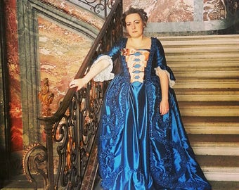 the French 18th century dress - dress FRAGONARD - dress