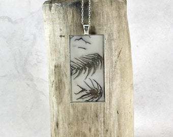 Pine Cone Necklace Silver Anatomy