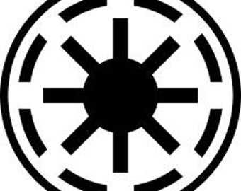 Star Wars Galactic Republic Vinyl Decal Sticker