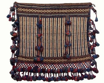 Antique Baluch nomad Bag from Afghanistan No:17/B