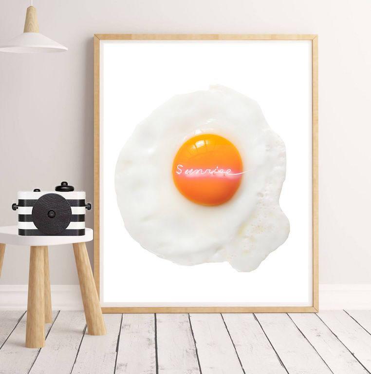 Affiche minimaliste affiche d corative affiche oeuf affiche for Affiche minimaliste