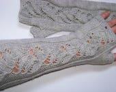 Fingerless Gloves PDF Knitting Pattern - DIY Hand Warmers - Mittens Pattern - Knit Fingerless Gloves Instructions- Instant Download