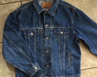 Calvin Klein Jean Jacket Denim 90's XL