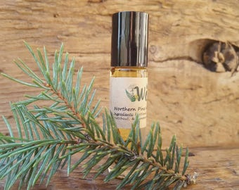 Northern Pine |Men's Aromatherapy | Cologne | Natural Scent | Essential Oil |