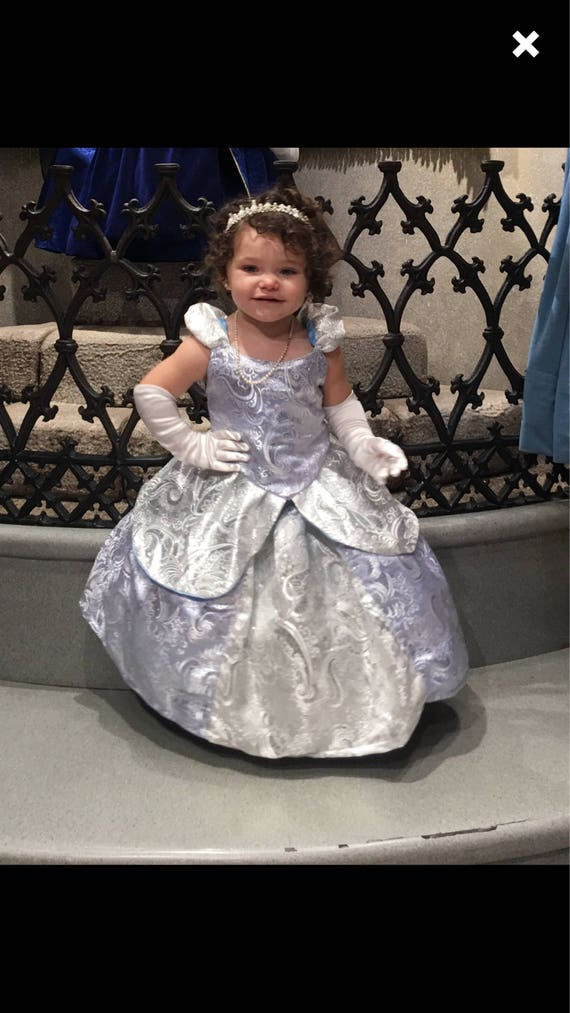 Cinderella costume toddler