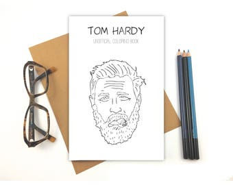 tom hardy coloring book - Drake Coloring Book