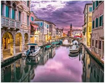 Venice, Venice art, Venice wall decor, Italian Decor, Venice Canal, Italy Art Print, venice wall art, When in Venice, Venice Photography