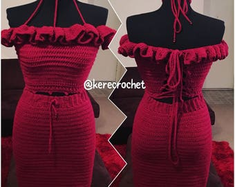 Crochet skirt: FATIM