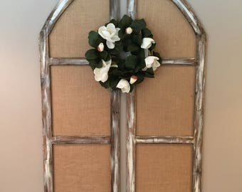 Large Dual Arched Window Set