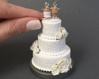 wedding cake first year anniversary wedding cake replica 1st anniversary gift 22622