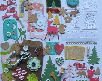 Christmas: cuts and embellishments for scrapbooking and crafting