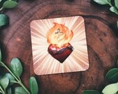 Sacred Heart mini prayer cards {set of 3}