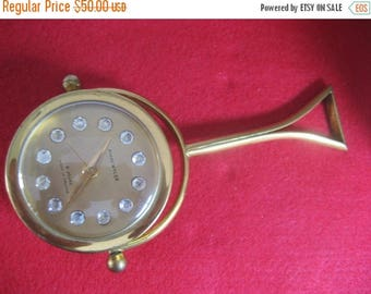 ON SALE Very unusual Andre Wyler Made in France Desk Clock
