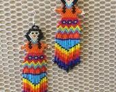 Earring beads dolls...