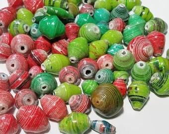 Fair Trade Paper Bead Mix 3