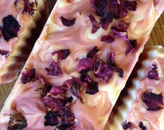 Raspberry Rose Soap  GLUTEN FREE