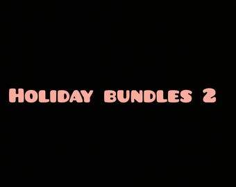 Halloween & Thanksgiving Bundles