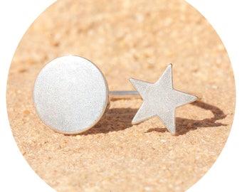 artjany ring star & sun silver