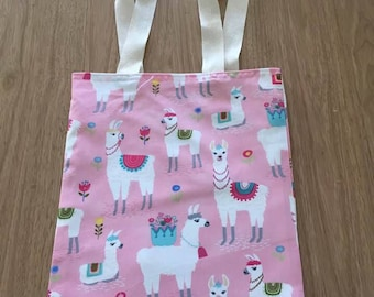 Llama/Alpaca Timeless Treasures 100% Cotton Bag