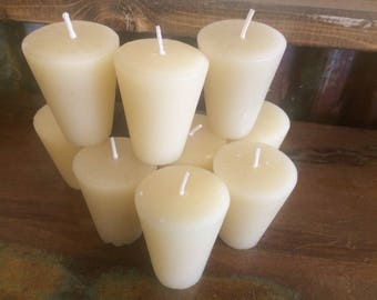 Unsented Sugar Mold Candle