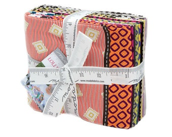 Lollies Sweetie - 6 Piece Half Yard Bundle by Jen Kingwell for Moda Fabrics - 18130AB