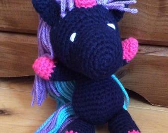 Little Unicorn crochet wool-on order