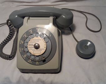 Vintage Telephone with  an Additional Handset.Made in FRANCE.