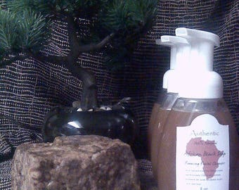 Authentic African Black Soap Foaming Wash