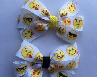 Emoji Hairbow
