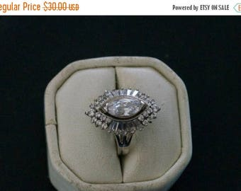 ON SALE Alluring CZ Silver Ring