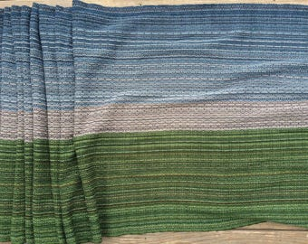 "4.8m/189inches Babywrap ""RECLAMATION""  Cotton Handwoven"