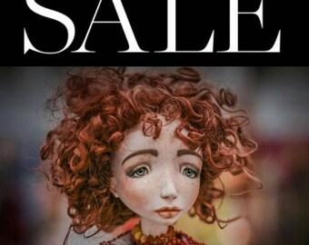 Sale until 1July! OOAK BJD Doll Mezenca