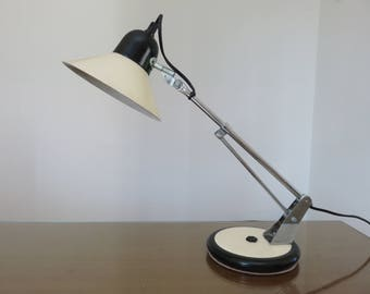 articulated lamp aluminor French made in France mid century 1960's 1970 '60s 70's vintage old french lamp