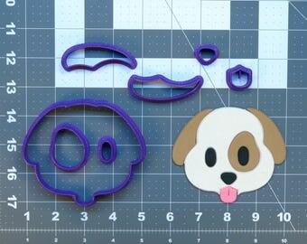 Dog Emoji 266-457 Cookie Cutter Set