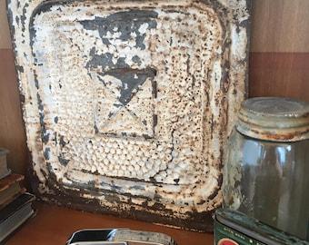 Antique ceiling tin