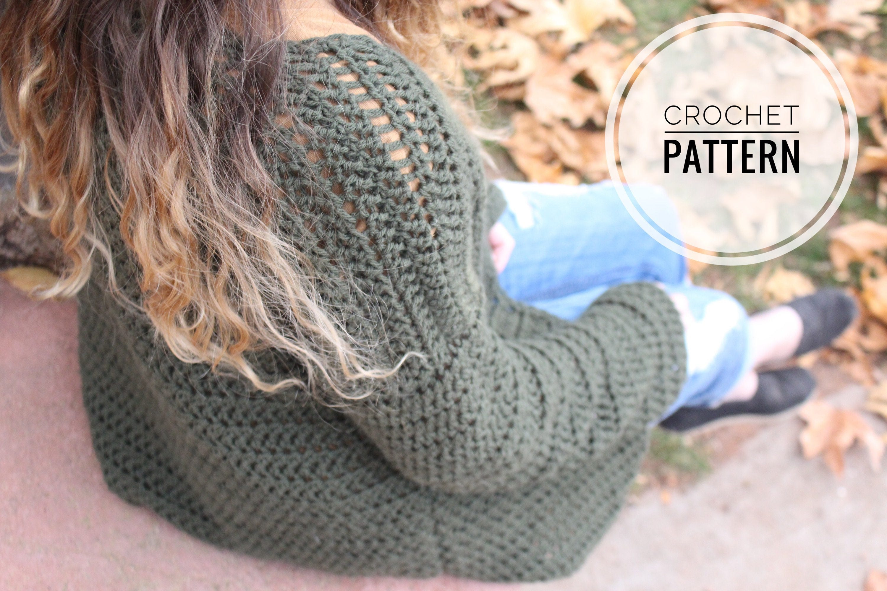 Crochet pattern the bennett oversized cardigan pattern oversized this is a digital file bankloansurffo Choice Image