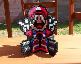 Super Mario Kart 3D Stand Perler