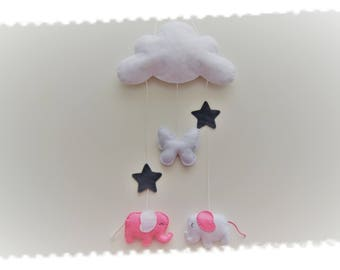 Decoration for kids room wall cloud