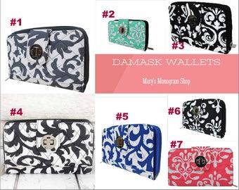 damask wallet