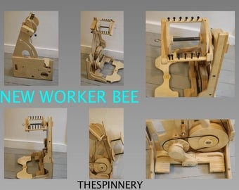 IN STOCK Spinolutions Worker Bee New Golden Whorl Made In USA Free or Immediate Shipping!